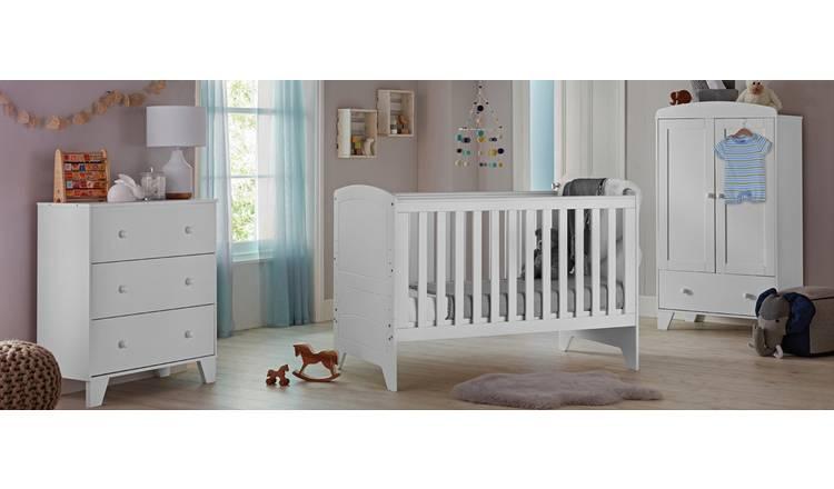 Buy Cuggl Oxford 3 Piece Furniture Set - White | Nursery furniture sets |  Argos