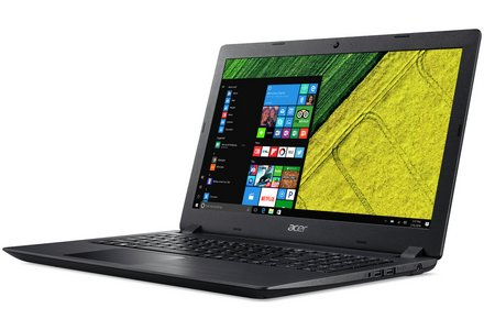Acer 15.6 Inch i3 4GB 128GB Laptop - Black