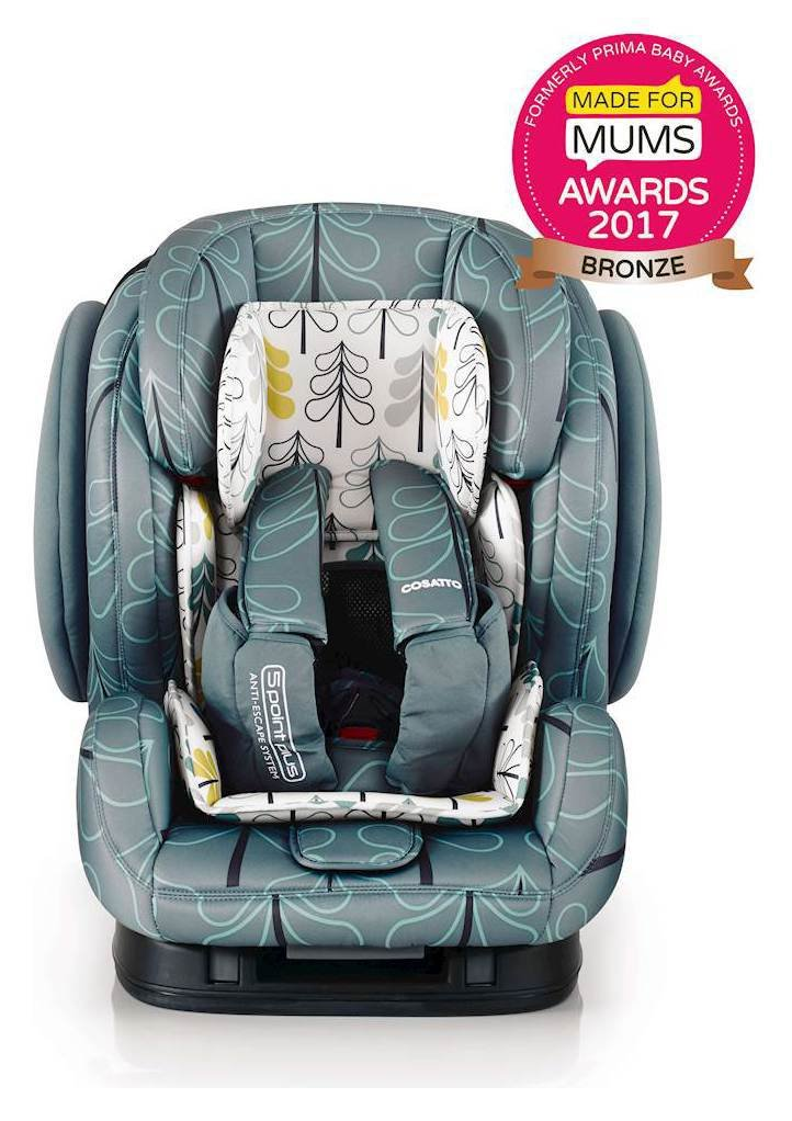 cosatto hug groups 1 2 3 isofix car seat fjord. Black Bedroom Furniture Sets. Home Design Ideas