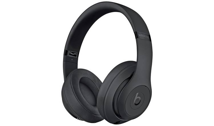 Buy Beats By Dre Studio 3 Wireless Over Ear Headphones Black Headphones And Earphones Argos