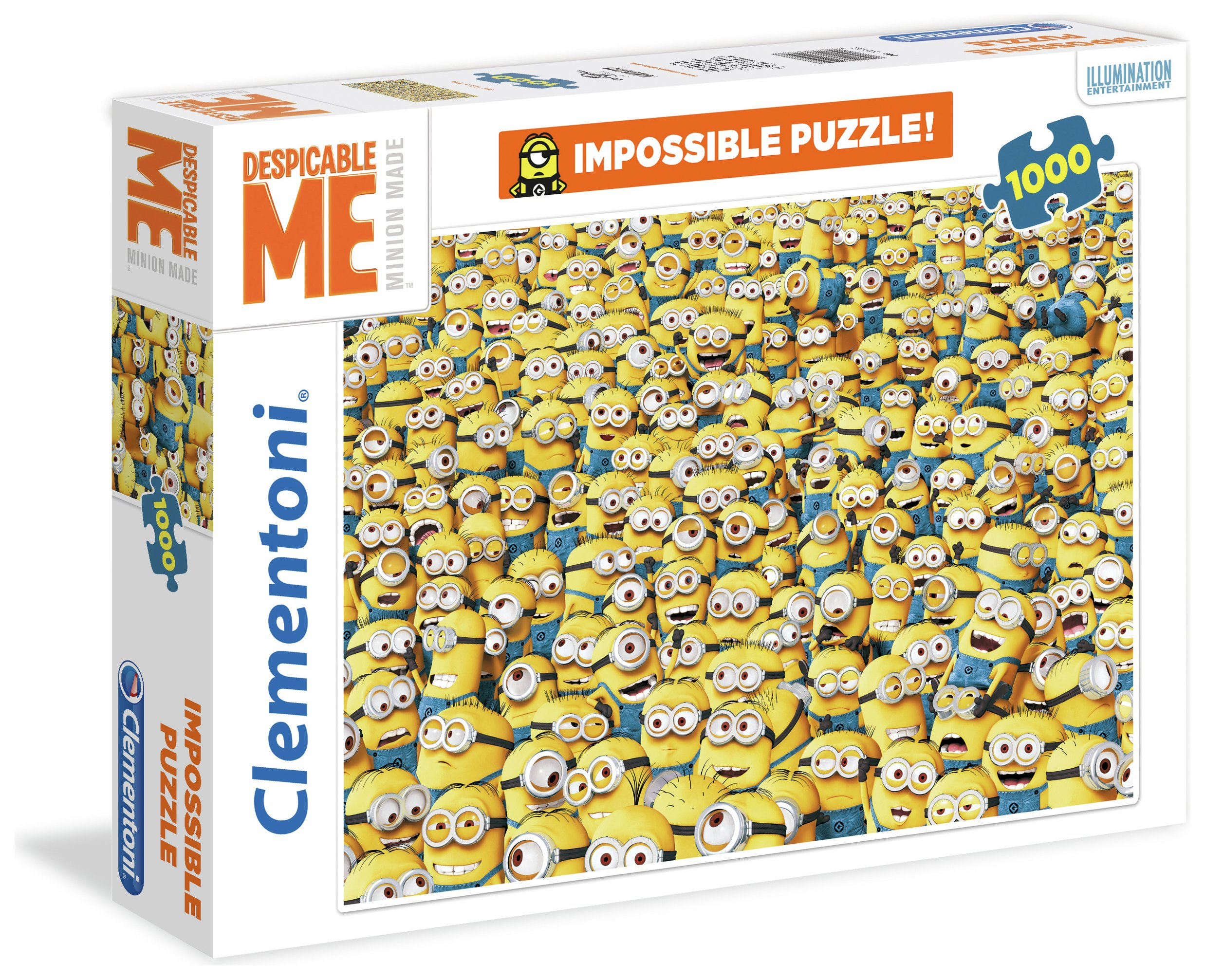 Image of Clementoni Despicable Me 3 1000 Impossible Puzzle