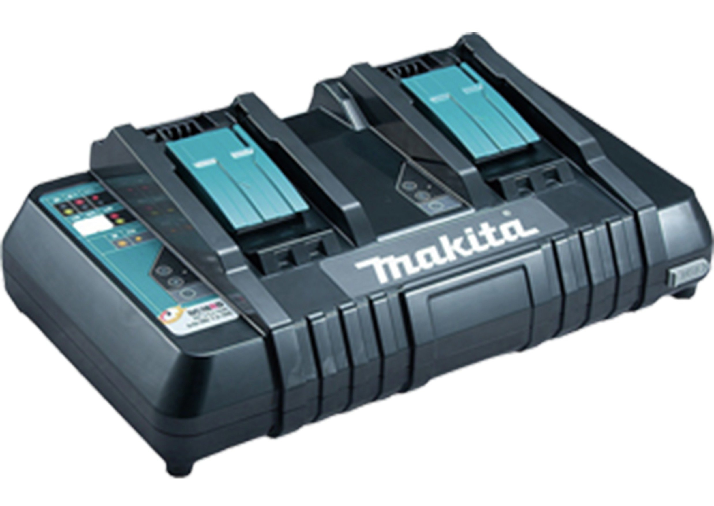 Makita 18V Rapid Twin Battery Charger