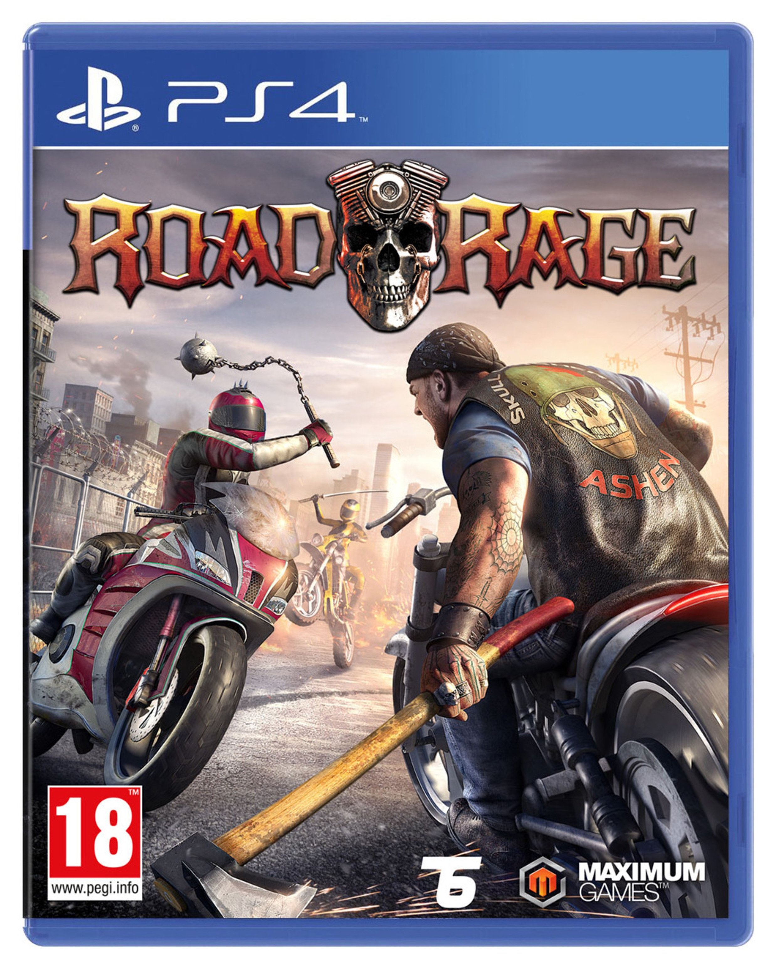 Road Rage PS4 Game.