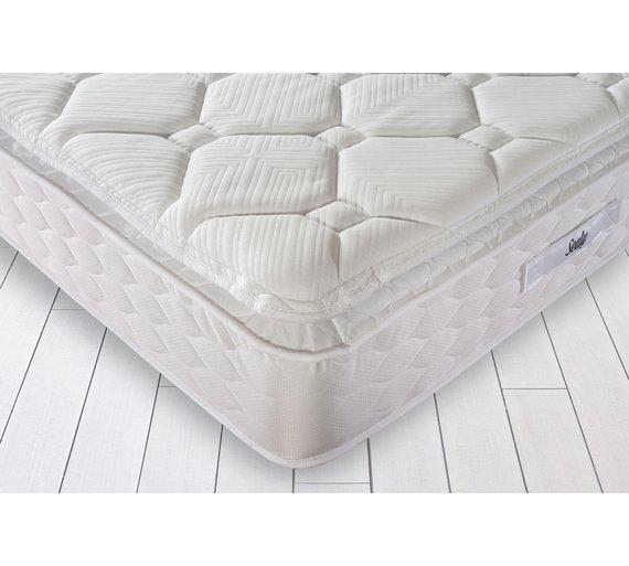 Buy Sealy Activ Geltex Pillowtop Kingsize Mattress Mattresses Argos