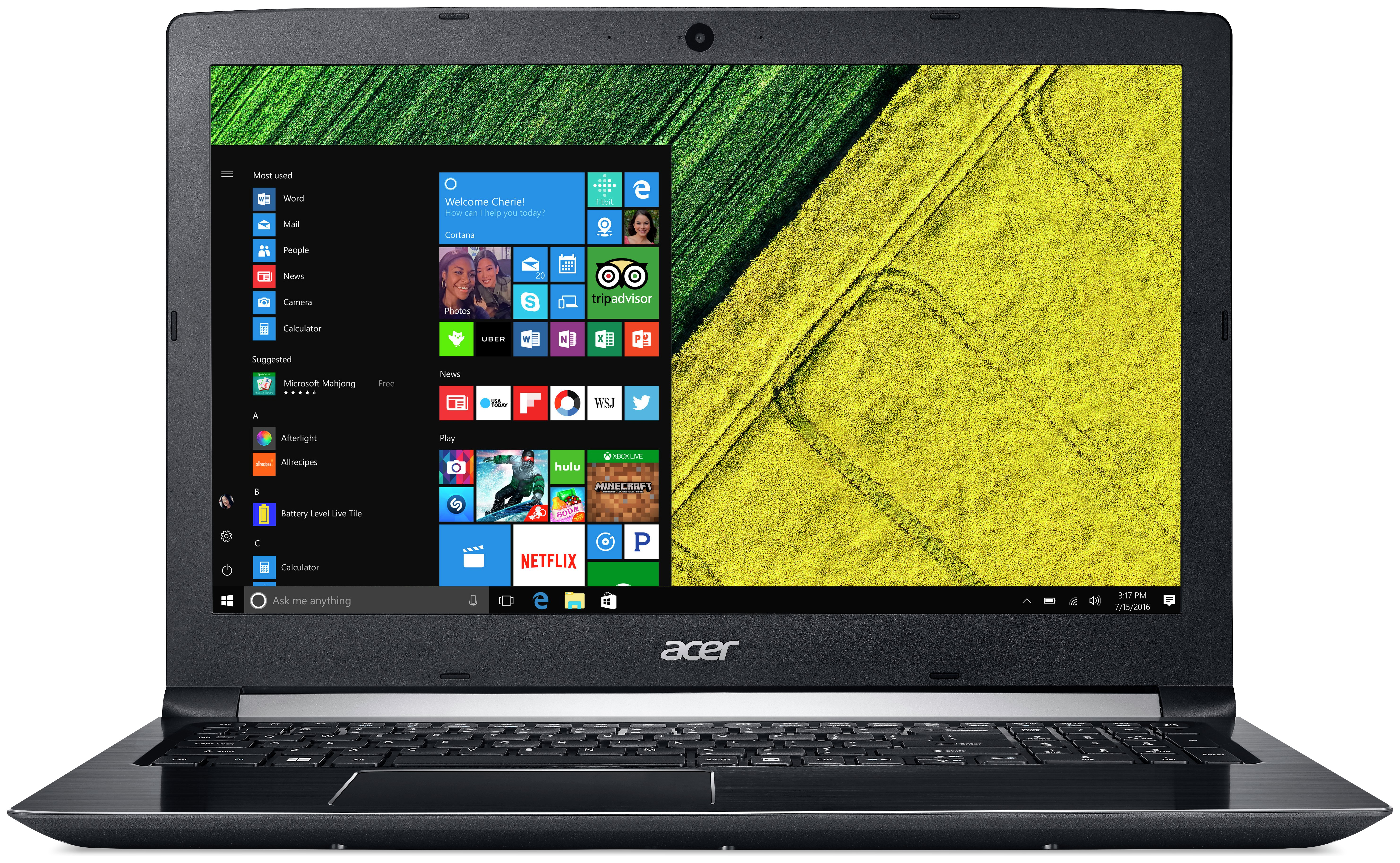 Image of Acer 15.6 Inch i5 8GB 1TB Laptop - Black
