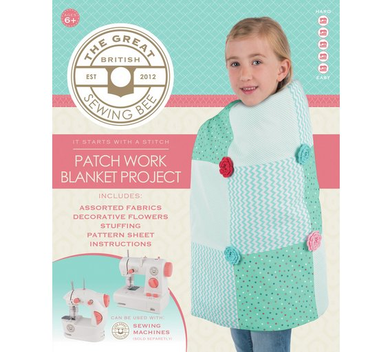 Buy Great British Sewing Bee Blanket Kit | Toy craft kits | Argos