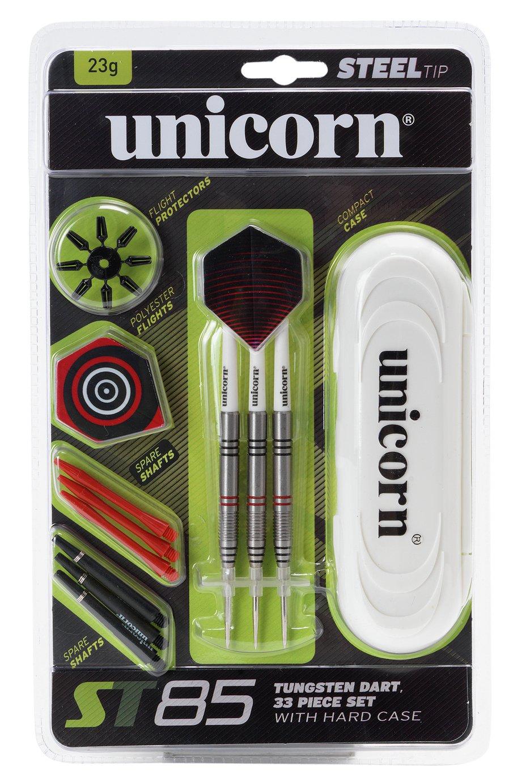 Unicorn ST85 23g Tungsten Darts Set - 33 Piece