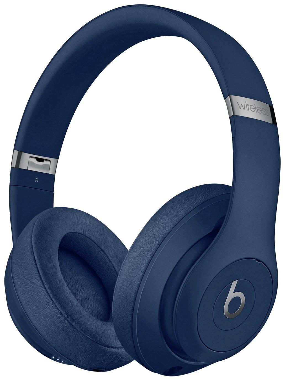 Image of Beats by Dre Studio 3 Wireless Over-Ear Headphones - Blue