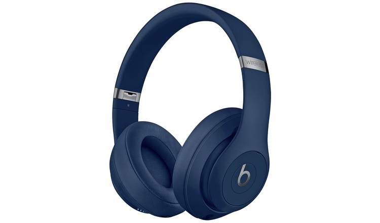 97d2a176096 Buy Beats by Dre Studio 3 Wireless Over-Ear Headphones - Blue ...