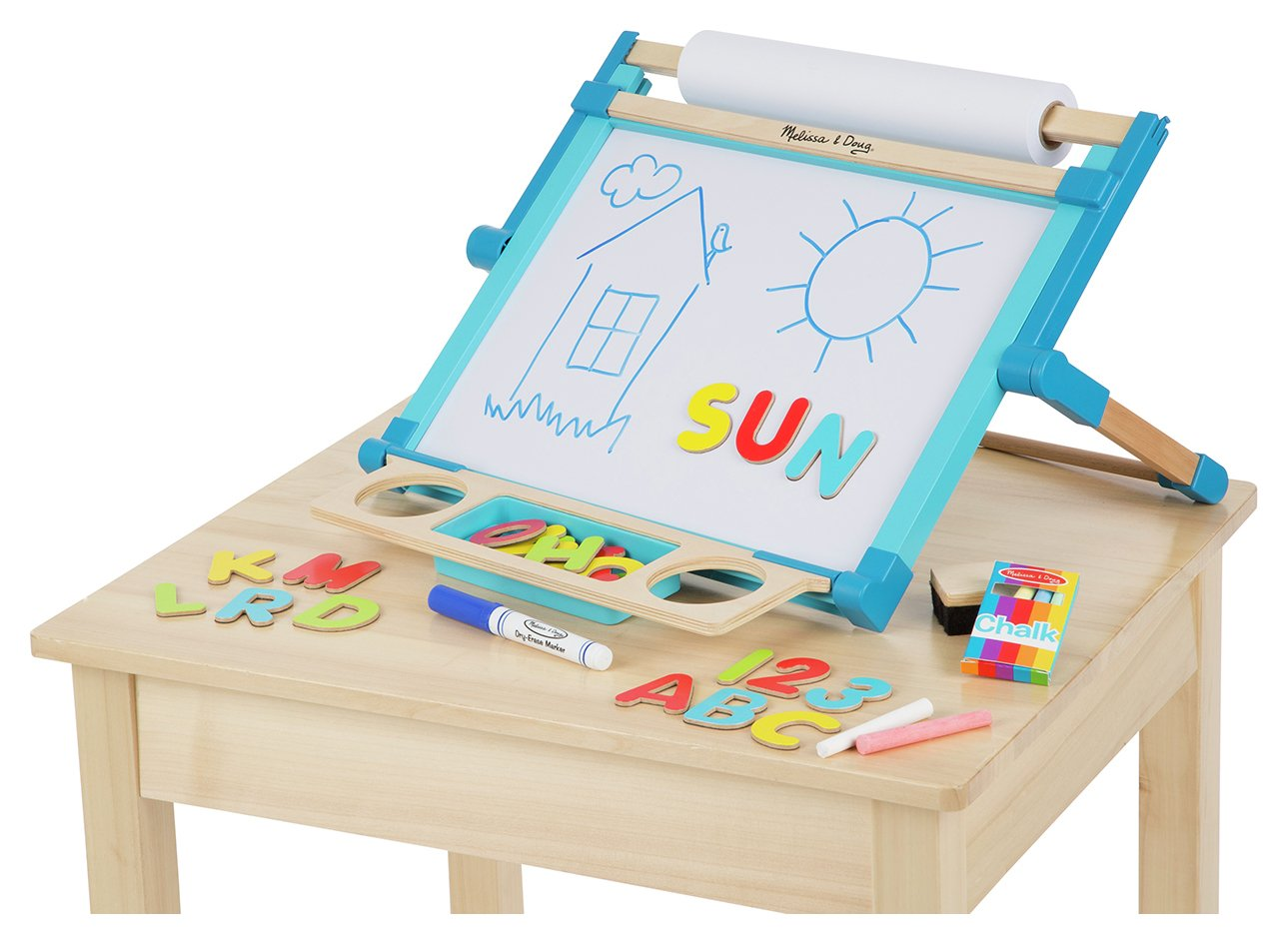 Wooden Double Sided Easel Pink Toys Compare And Save