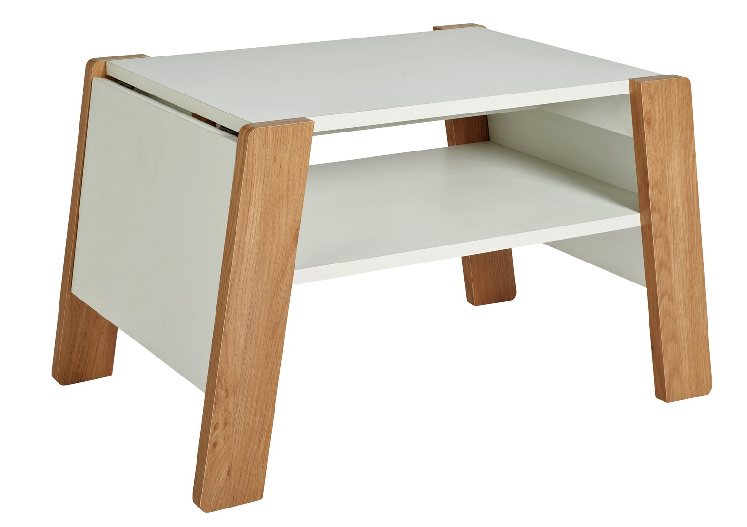 Extendable Coffee Table buy hygena extendable coffee table - white at argos.co.uk - your