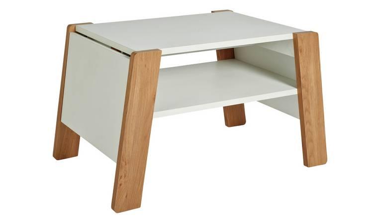 Coffee Table Extendable.Buy Argos Home Zander Extendable Coffee Table White Coffee Tables Argos