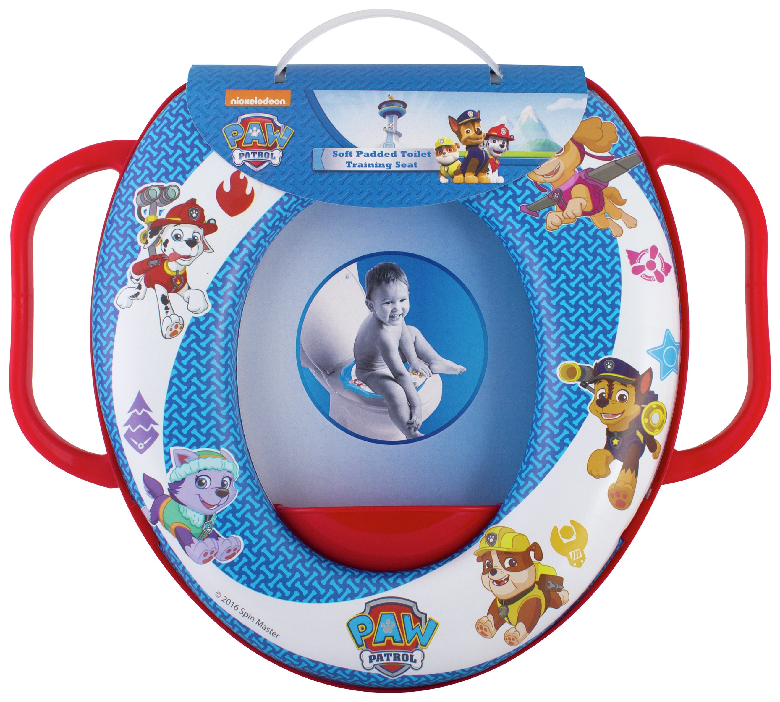Paw Patrol Soft Padded Toilet Seat