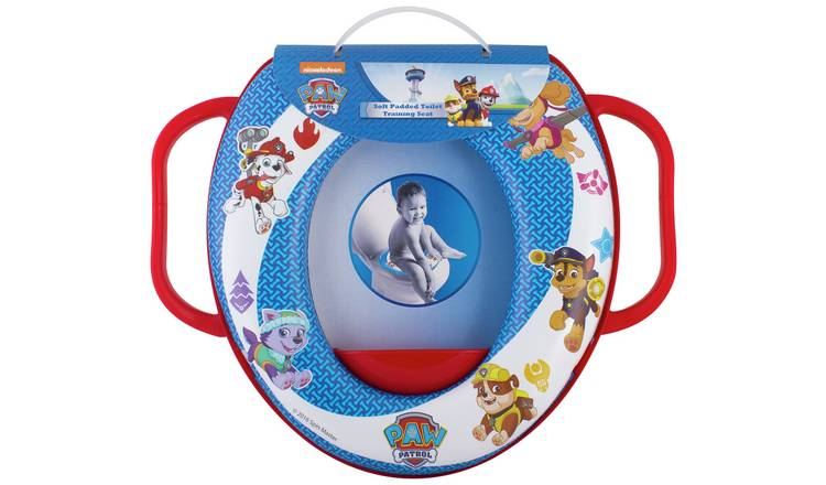 Pleasing Buy Paw Patrol Soft Padded Toilet Seat Baby Toilet Seats Argos Ncnpc Chair Design For Home Ncnpcorg