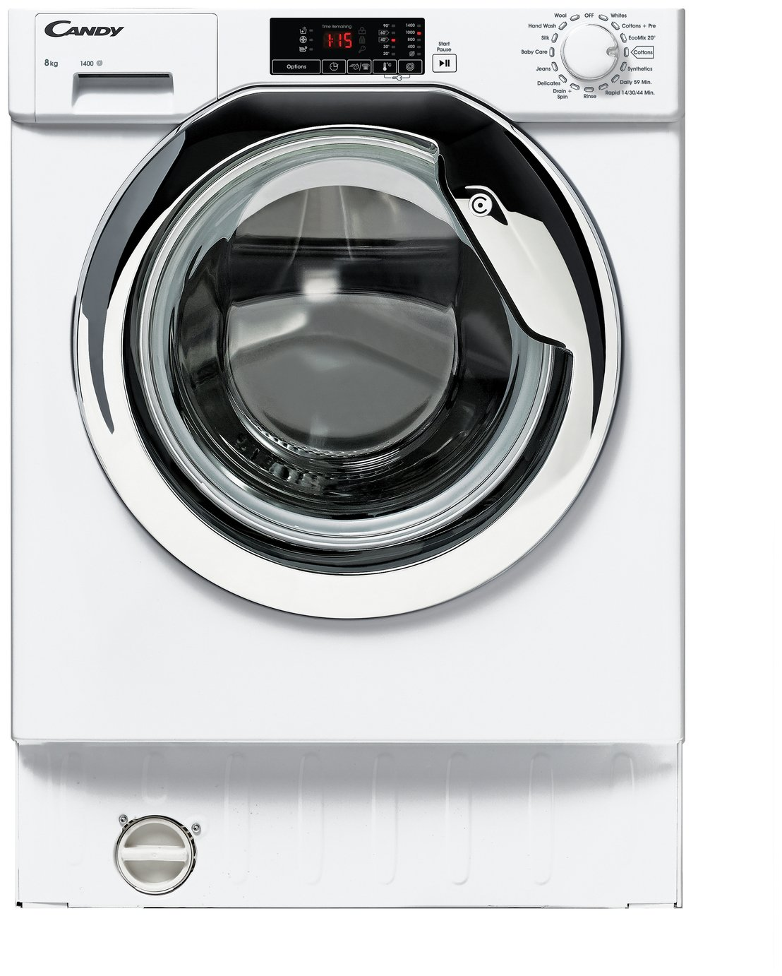 Image of Candy CBWM814DC 8KG 1400 Spin Integrated Washing Machine