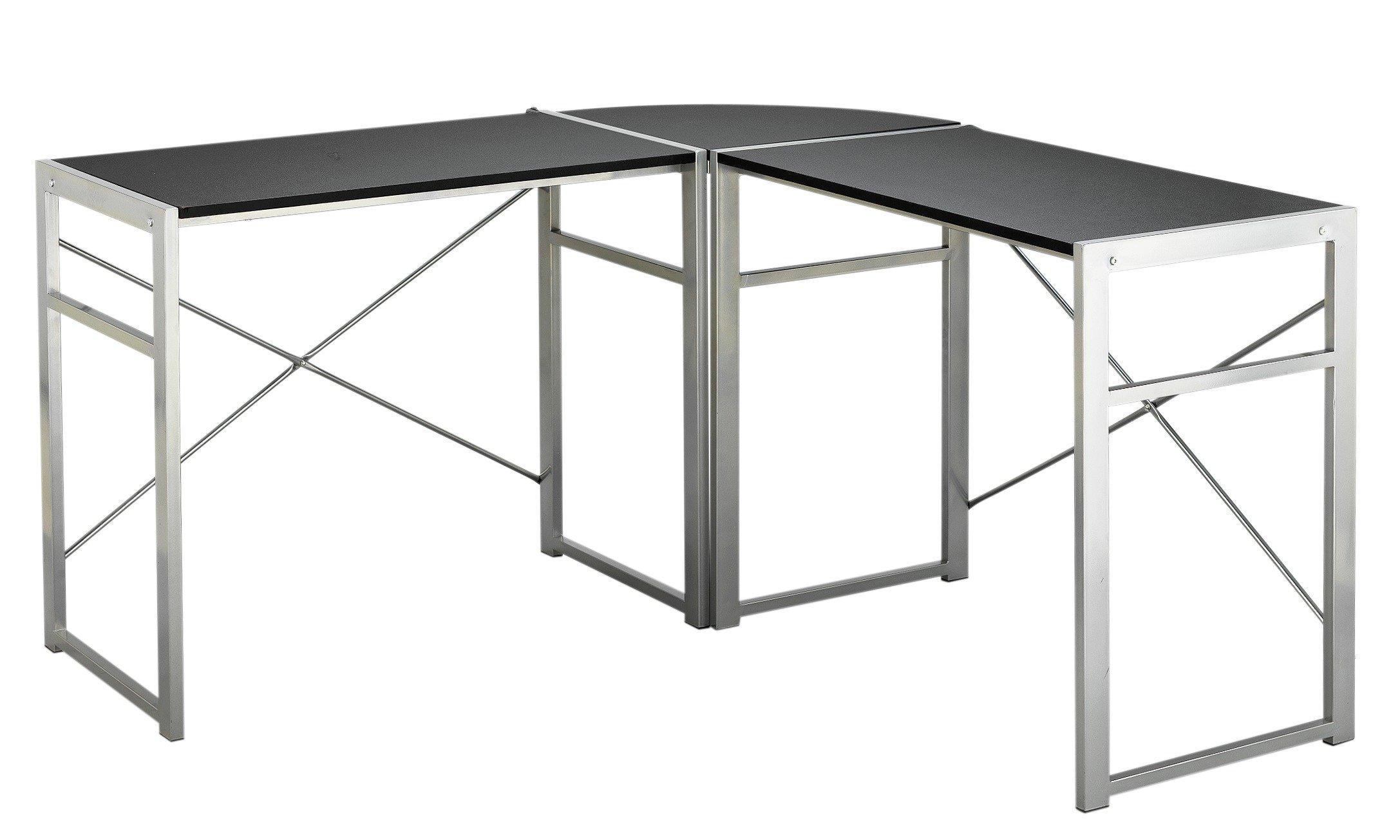 home metal corner desk gay times. Black Bedroom Furniture Sets. Home Design Ideas