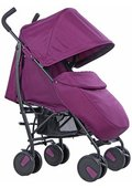 Cut-out image of a Cuggle Maple pushchair in Mulberry.