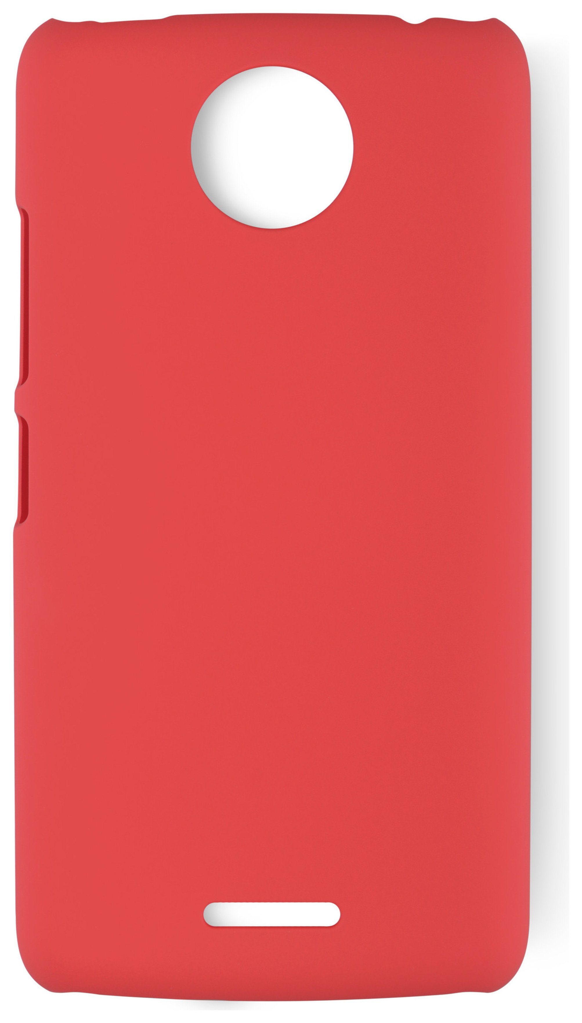 Motorola Moto C Plus Hard Case - Red