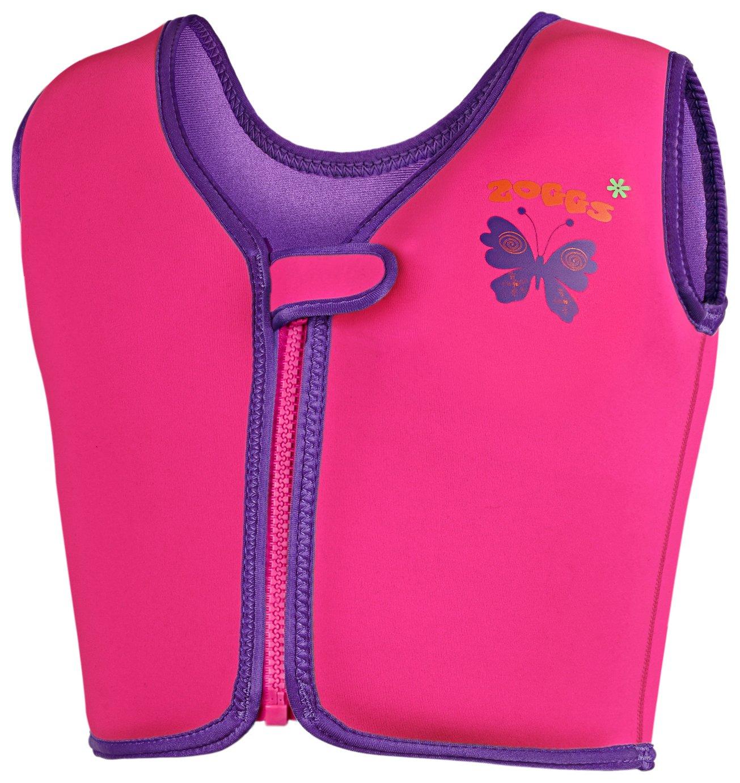 Zoggs Pink Swim Jacket - 2-3 Years