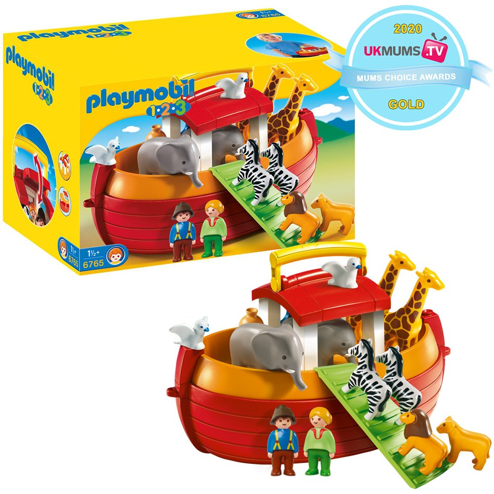 Playmobil 6765 1.2.3 Take Along Noah's Ark.