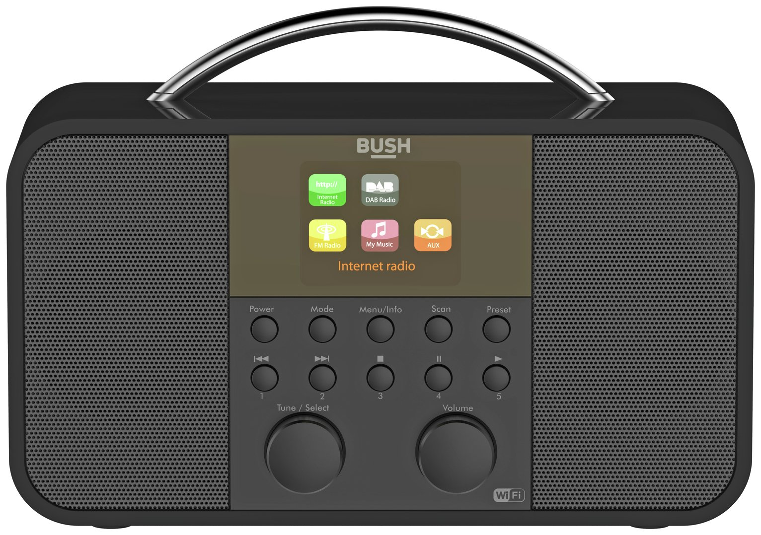 Image of Bush Internet DAB Radio - Black