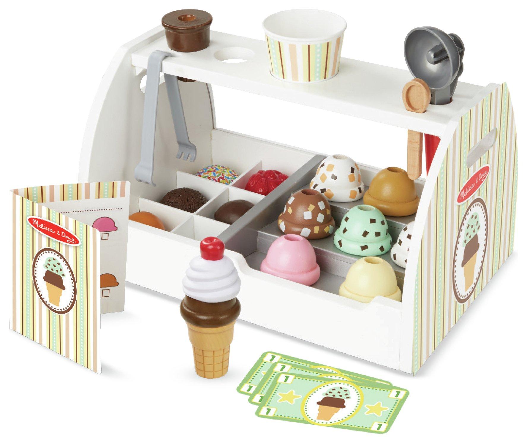 Melissa & Doug Scoop & Serve Ice Cream Counter.