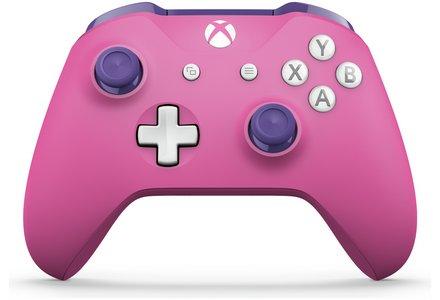 Xbox Wireless Controller – Deep Pink / Regal Purple