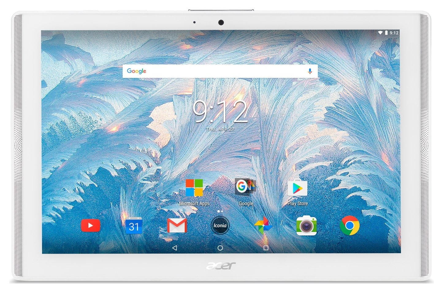 Image of Acer Iconia One 10 Inch 2GB 16GB Tablet - White