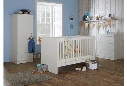 Cuggl Malibu 3 Piece Furniture Set - White.