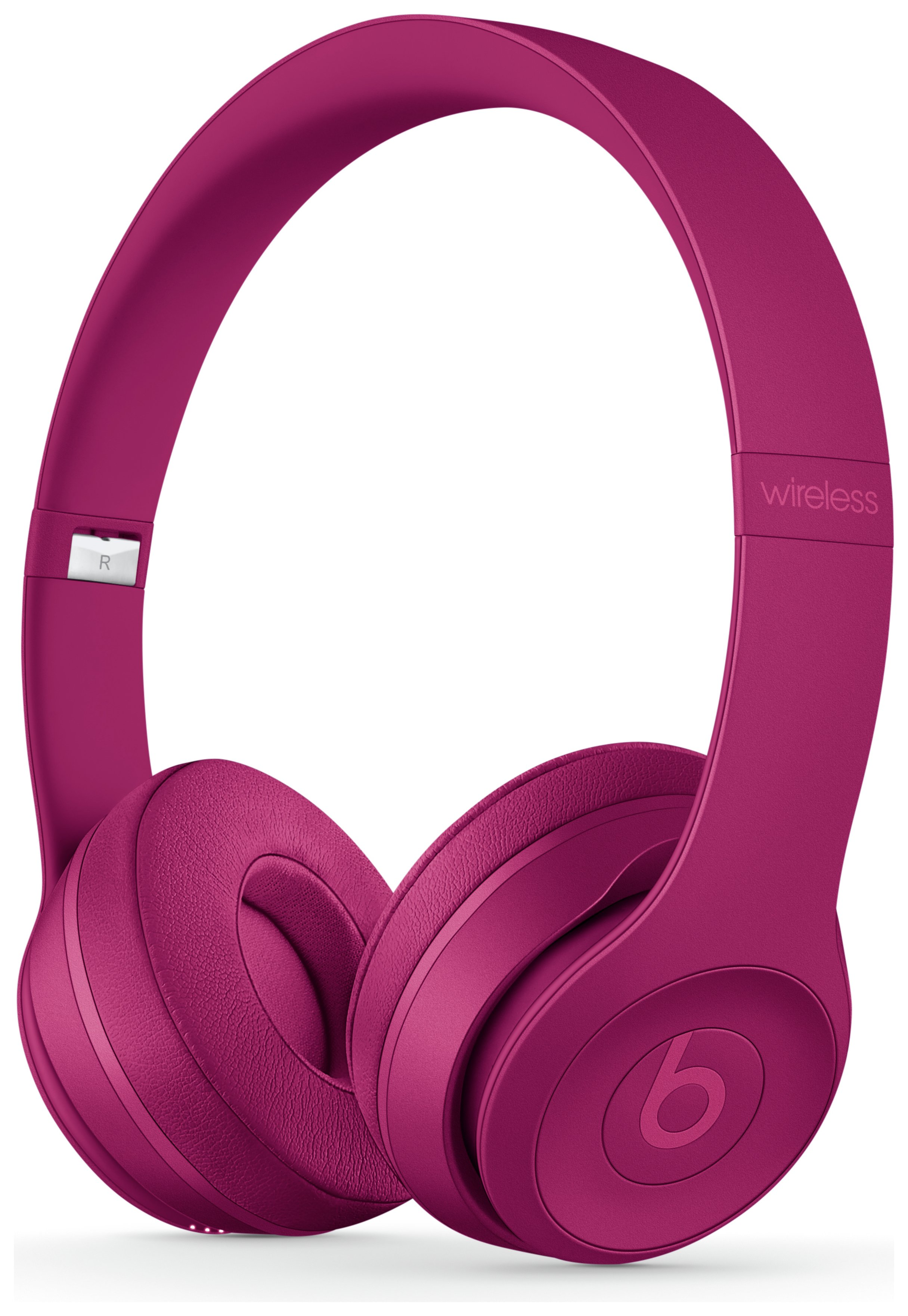 Beats by Dre Solo 3 On - Ear Wireless Headphones - Brick Red