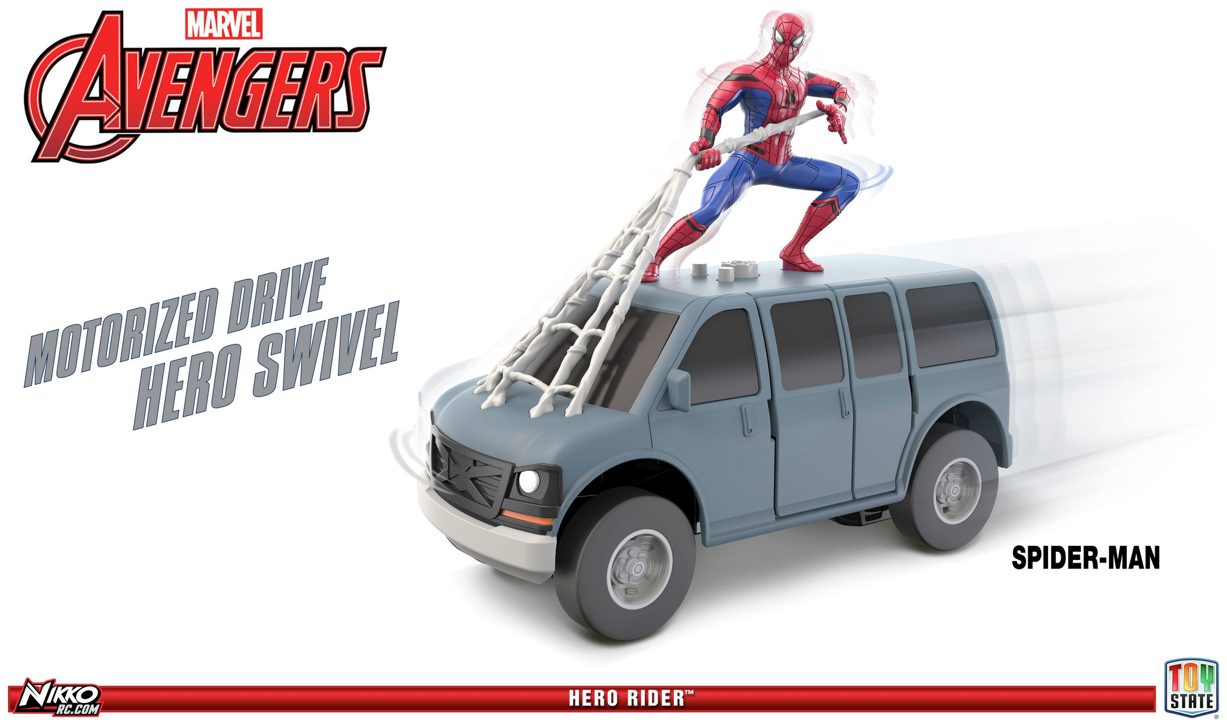 Marvel Spider-Man Hero Rider Van.