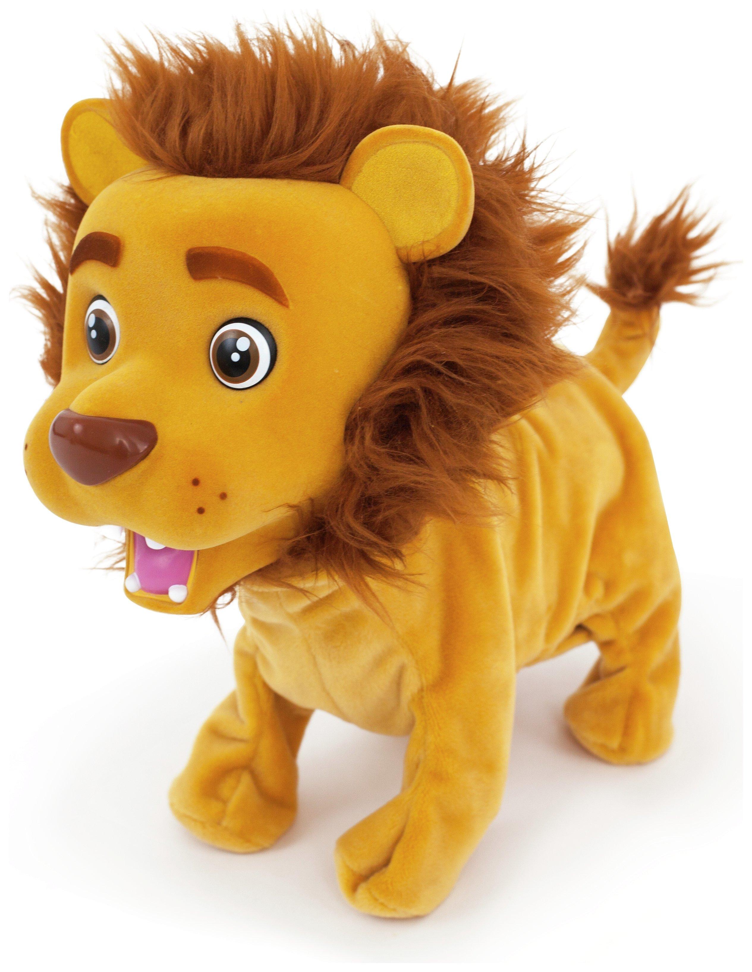 Image of Club Petz Kokum the Little Lion Interactive Plush.