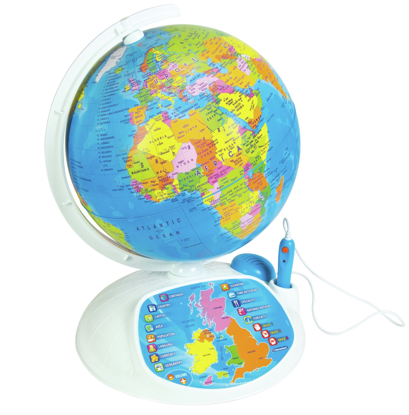 Image of Clementoni Interactive Educational Talking Globe