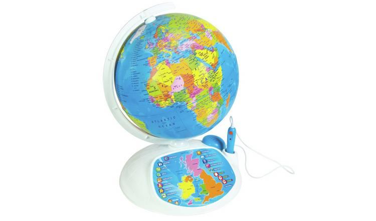 Buy Clementoni Interactive Educational Talking Globe ...