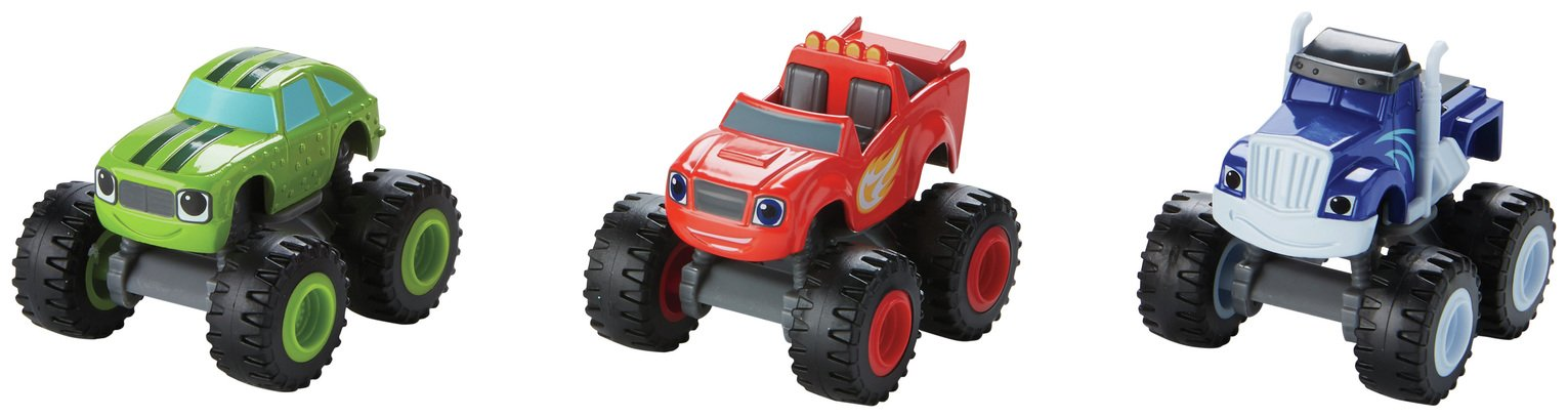 Image of Blaze and the Monster Machines Monster Truck 3-Pack Vehicles