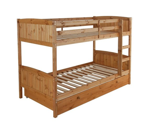 Buy home detachable single bunk bed frame with storage for Single loft bed frame