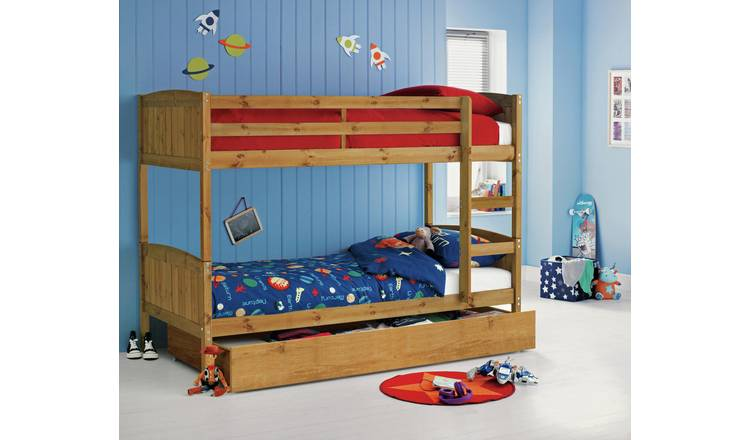 Buy Argos Home Detachable Pine Bunk Bed With Storage Kids Beds