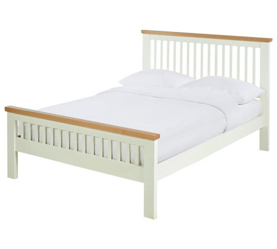 Buy Argos Home Aubrey Small Double Bed Frame Two Tone Bed