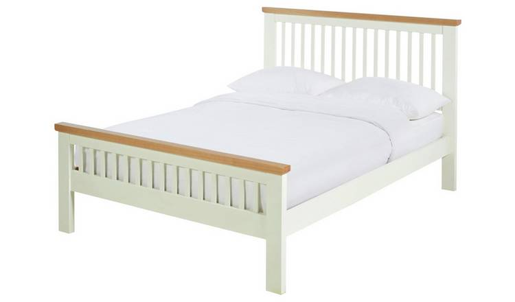 Argos Home Aubrey Small Double Bed Frame - Two Tone