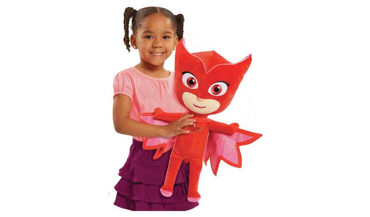 PJ Masks Jumbo Soft Toy - Owlette