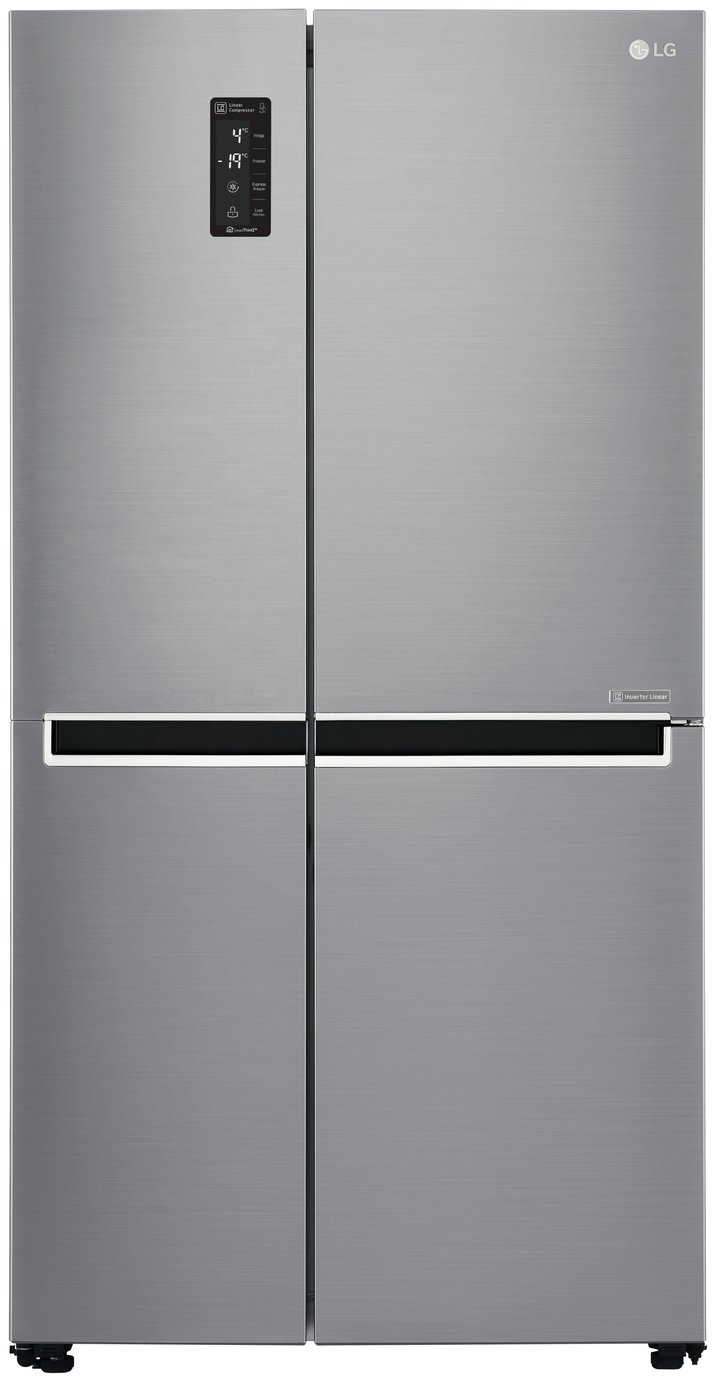 LG GSB760PZXV American Fridge Freezer - Stainless Steel Best Price, Cheapest Prices