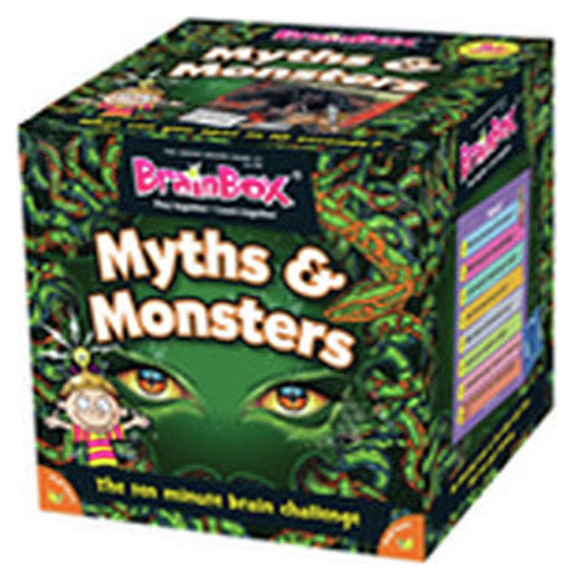 Image of Brainbox Myths and Monsters Game.