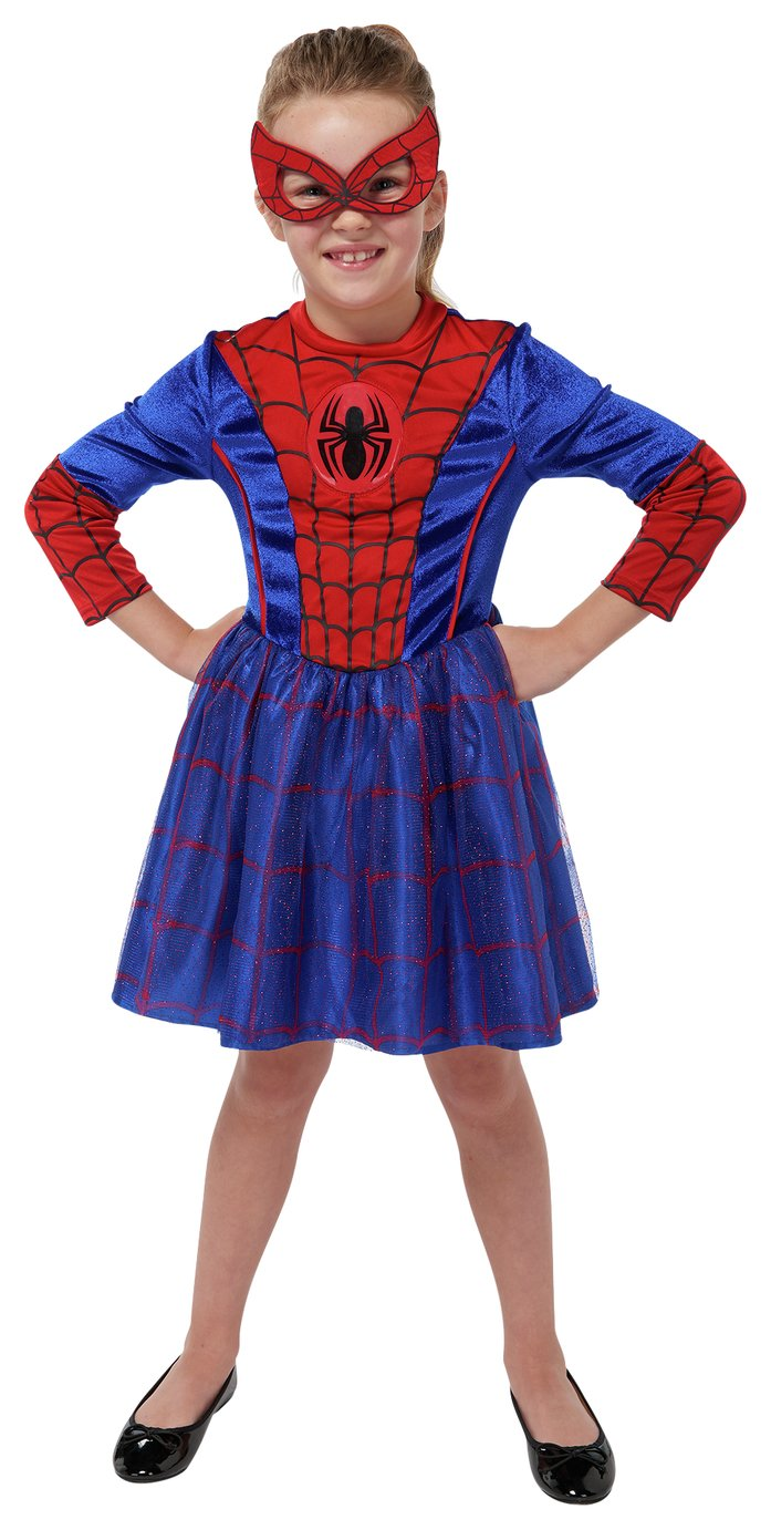 Marvel Spider-Girl Fancy Dress Costume - 7-8 Years