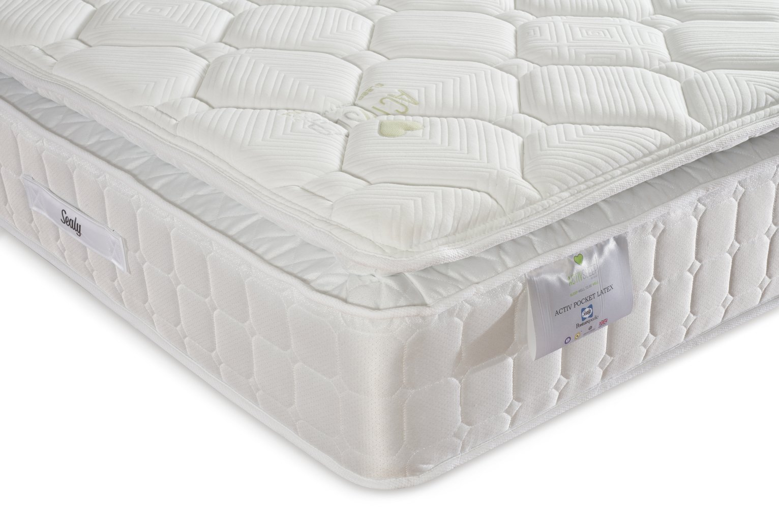 Sealy Posturepedic 1400 Latex Superking Mattress