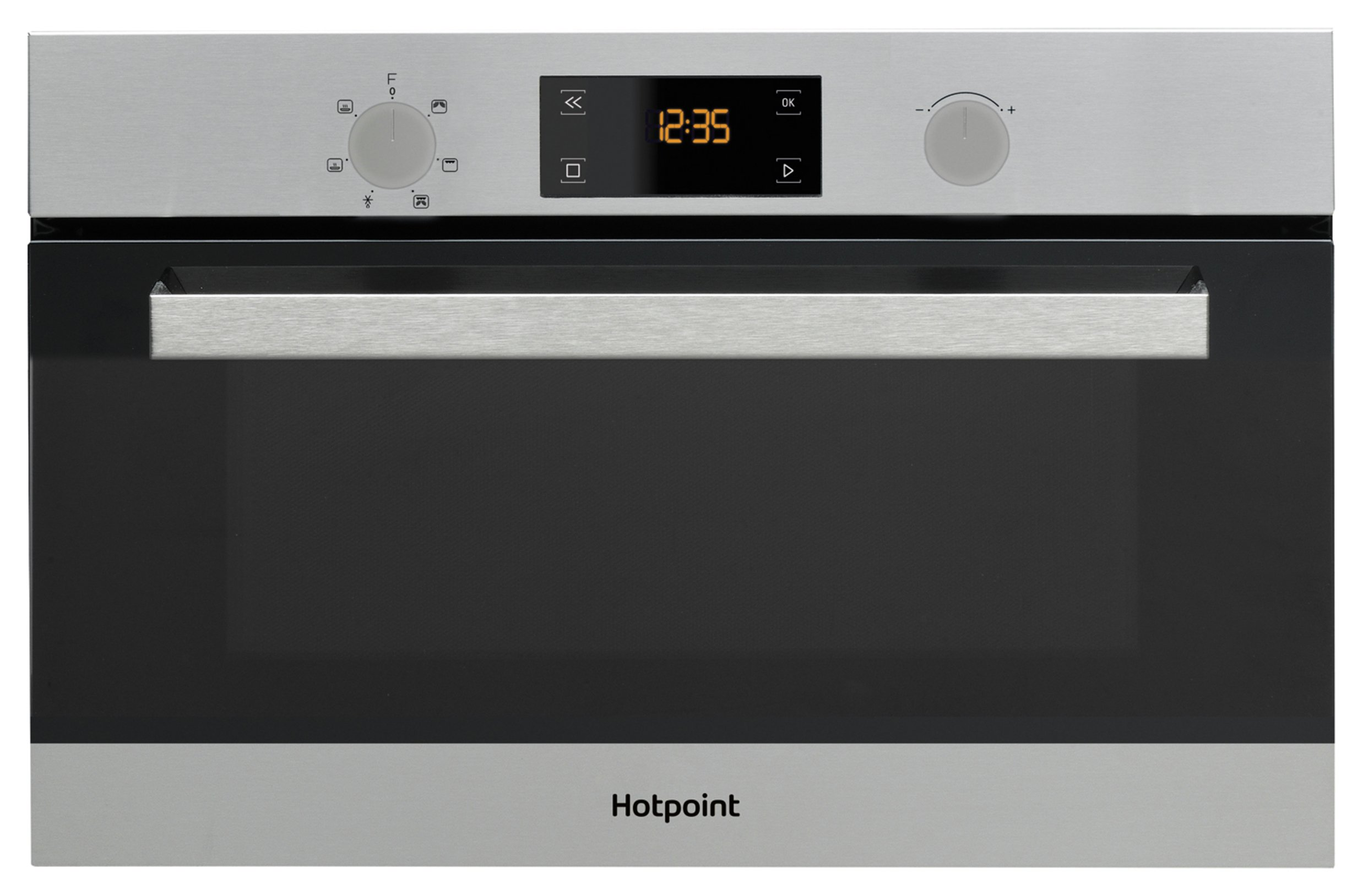Hotpoint Class 3 MD 344 IX H Built-in Microwave - Stainless Steel Best Price and Cheapest