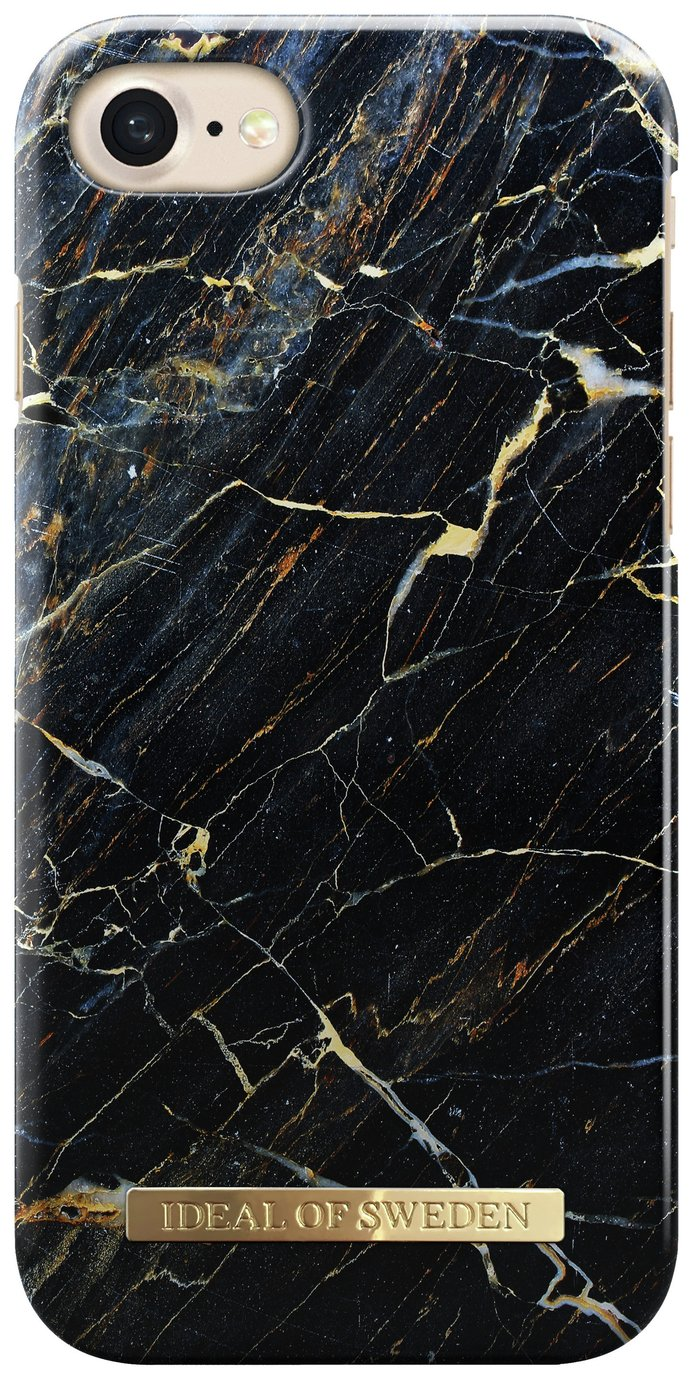 iDeal of Sweden iPhone 6/6s/7/8 Case - Black Marble