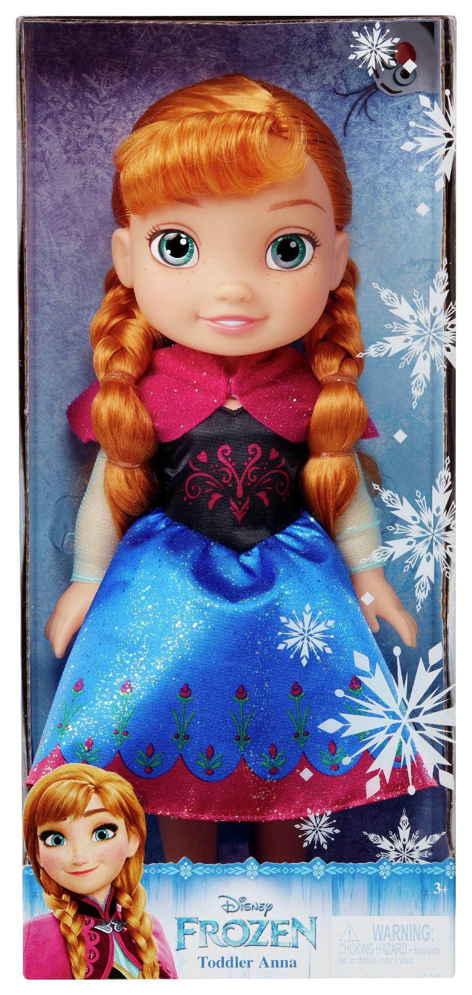 Image of Disney Frozen Anna Toddler Doll