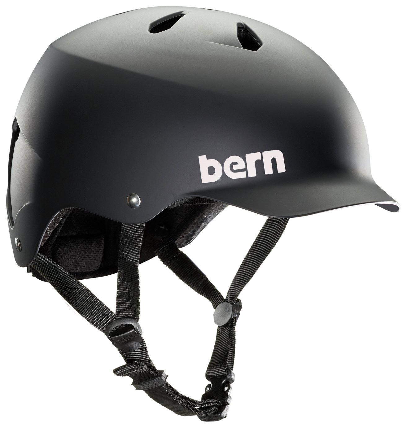 Image of Bern Watts EPS Summer Helmet - Matte Black