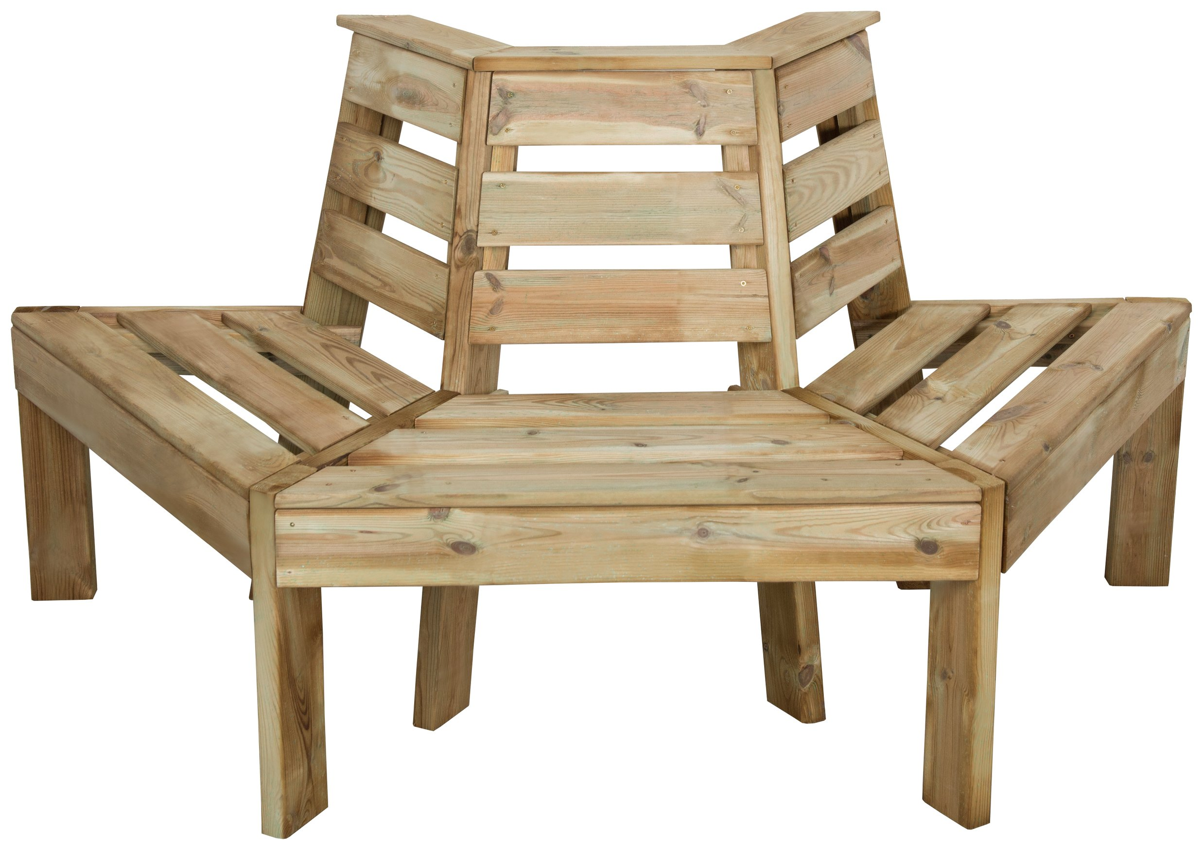 Forest Timber Tree Seat at Argos