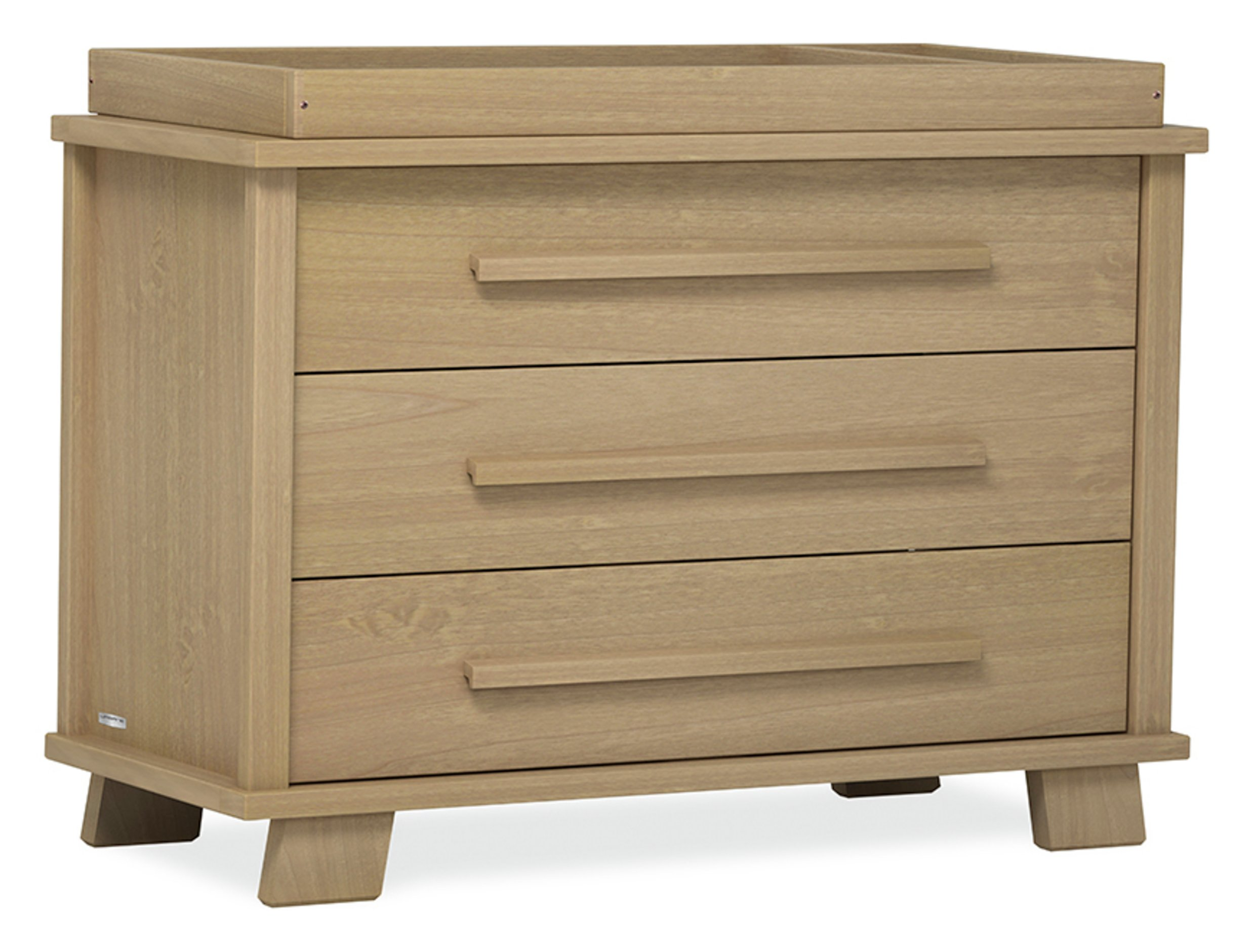 Image of Lucia 3 Drawer Chest - Almond